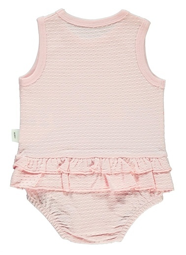Civil Baby Civil Baby Kız Bebek Tulum 3-12 Ay Ekru Civil Baby Kız Bebek Tulum 3-12 Ay Ekru Pembe